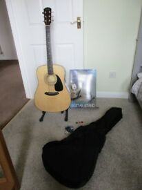 Fender Acoustic Guitar and Accessories For Sale