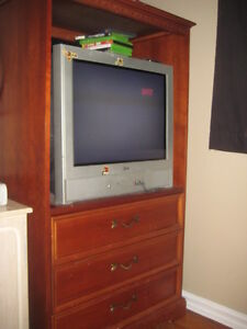 t.v unit great condition delivery available Cambridge Kitchener Area image 2