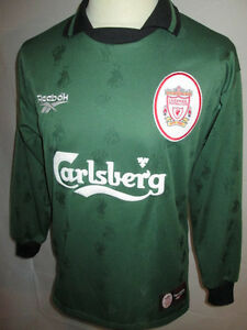 Liverpool-1996-1997-Goalkeeper-Football-Shirt-Size-Small-34-36