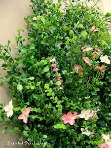 Boxwood & Wildflower Wreath/ Spring/Summer/Wedding Wreath Belleville Belleville Area image 3