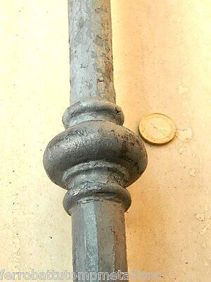 caposaldo forgiato in ferro battuto per recinzioni barriere decoro SCH.0115010