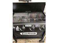 Jumbuck 4 burner gas Barbecue