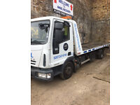 Iveco Eurocargo 10T Recovery Truck Tilt and Slide Spec Lift