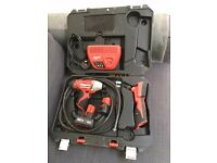 Milwaukee C 12 ID Impact Driver with Charger/ Two Batteries and Cordless Digital Inspection Camera
