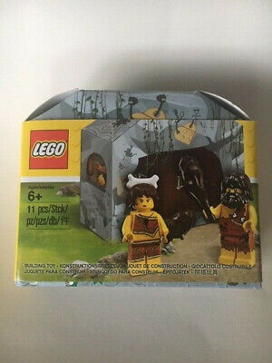 New LEGO Iconic Caveman and Cavewoman Minifigure Set 5004936