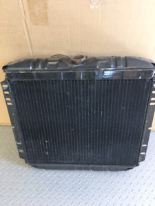 Price Drop Mustang Radiator 1967-1970  with 6 Cyl 200 Engine.