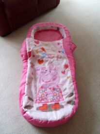 Ready Bed replacement cover Brand new & unused Peppa Pig Muddy Puddles design