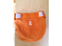 Washable nappies - Gnappies - orange - large - excellent used condition