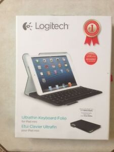 Logitech Ultrathin Keyboard Folio (for iPad mini) - Like NEW