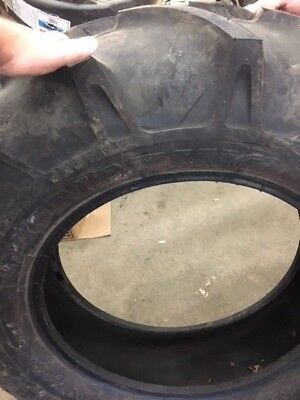 One Used 12.4-24 Grip King R1 Tire