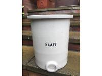 WWII NAAFI Stoneware Urn