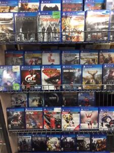 PS4 GAMES STARTING AT $5.99!