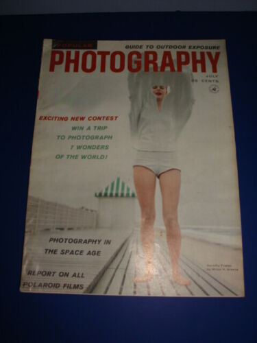 Photography Magazine July 1958 Photography In The Space Age - Vintage