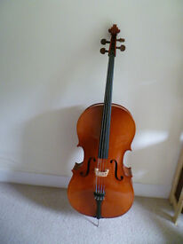 Full size (4/4) Musima cello -lovely German cello vgc. plays beautifully