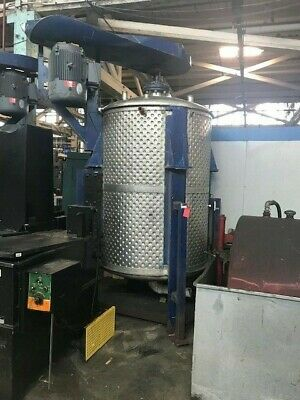 700 Gallon Stainless Steel Dimple Jacketed Tank With Disperser Agitation 1
