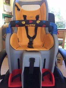 Topeak Baby Seat Curtin Woden Valley Preview