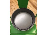 Round Cake Tin with Loose Bottom