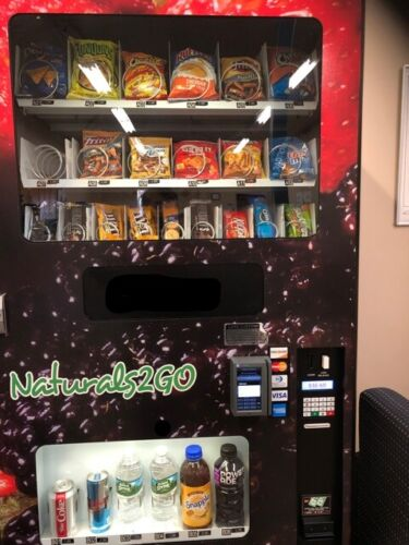 Business Opportunity--Three active accounts for sale Natural2Go Vending machines