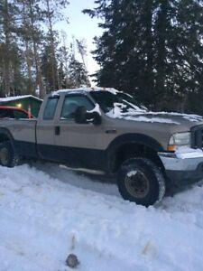 ford pickup F250 4X4  2003
