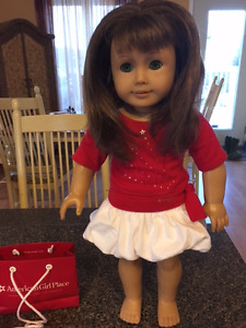 American Girl Doll, Wardrobe and Hairstyling Set