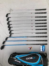 Golf Set - Slazenger P300 - Putter, Golf Bag & Balls (RH Reg)