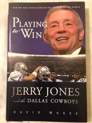 PLAYING TO WIN - DALLAS COWBOYS - JERRY JONES - AMERICA'S TEAM - AIKMAN, IRVIN