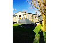 Static caravan for sale. North Wales- Talacre beach. 8 Berth, 3 bedroom caravan