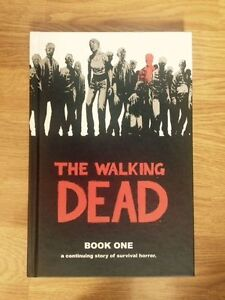 WALKING DEAD HARDCOVER SINGLES FOR SALE - MINT