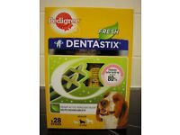 BNIB Pedigree DentaStix Fresh Dog Chews for Medium Dog 28 pk
