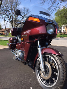 1983 Honda Goldwing Gold Wing Interstate
