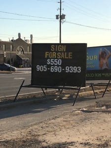 Portable Signs for Sale - REDUCED!