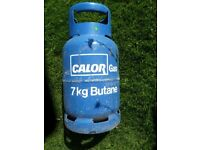 Full Calor gas bottle