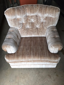 Lovely Beige Arm Chair