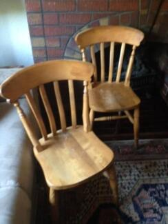 Pair dining chairs Nedlands Nedlands Area Preview