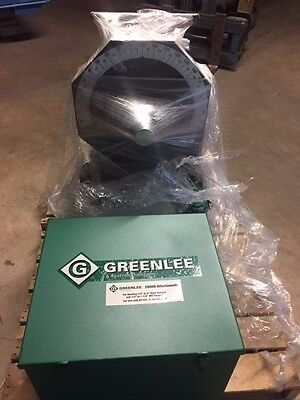 Greenlee 555 Cxrs 853 854 Conduit Pipe Bender Ridgid Imc 1 Double Shoe 2 Rollers