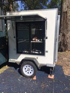 Portable coolroom 6 X 4 on trailer