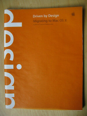 """Apple """"Migrating To Mac OS X"""" Guide for Creative Professionals. L30290A. VINTAGE"""