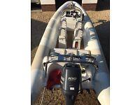 Ribtec Riviera 555 SX - Rib 2014 - Yamaha F100 HP - As New