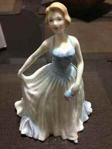 Royal Doulton New Dawn HN 4314 Ltd. Ed. & Autographed Chum FM
