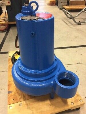 Barnes Submersible Sewage Ejector Pump 3se2024l 3 Discharge Single Phase