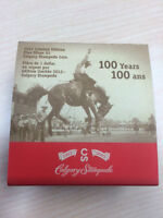 100 years of Calgary Stampede Fine Silver Coin