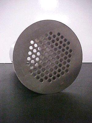 New Stainless Steel Commercial Floor Drain 3.5 X 8 Stem