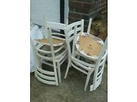 Chairs free in need of TLC