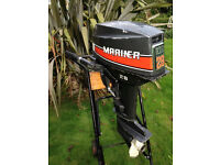 Mariner/Yamaha 28hp Short Shaft 2-stroke Outboard Engine