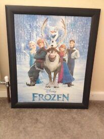 Disney Frozen Picture Anna & Elsa & Friends