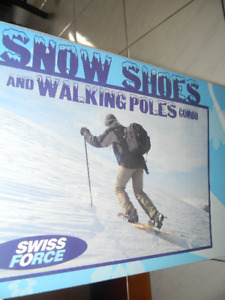 Snow Shoes with Poles