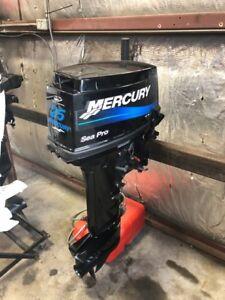 Pre-Owned Mercury 25hp [ML] Seapro Outboard Motor