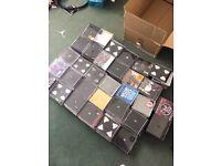 Over 250 empty cd cases