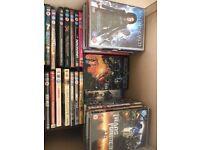 Blue Ray & DVD's Mixed Box