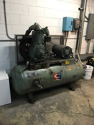 15hp 2 Stage Champion Air Compressor 230460v 3 Phase